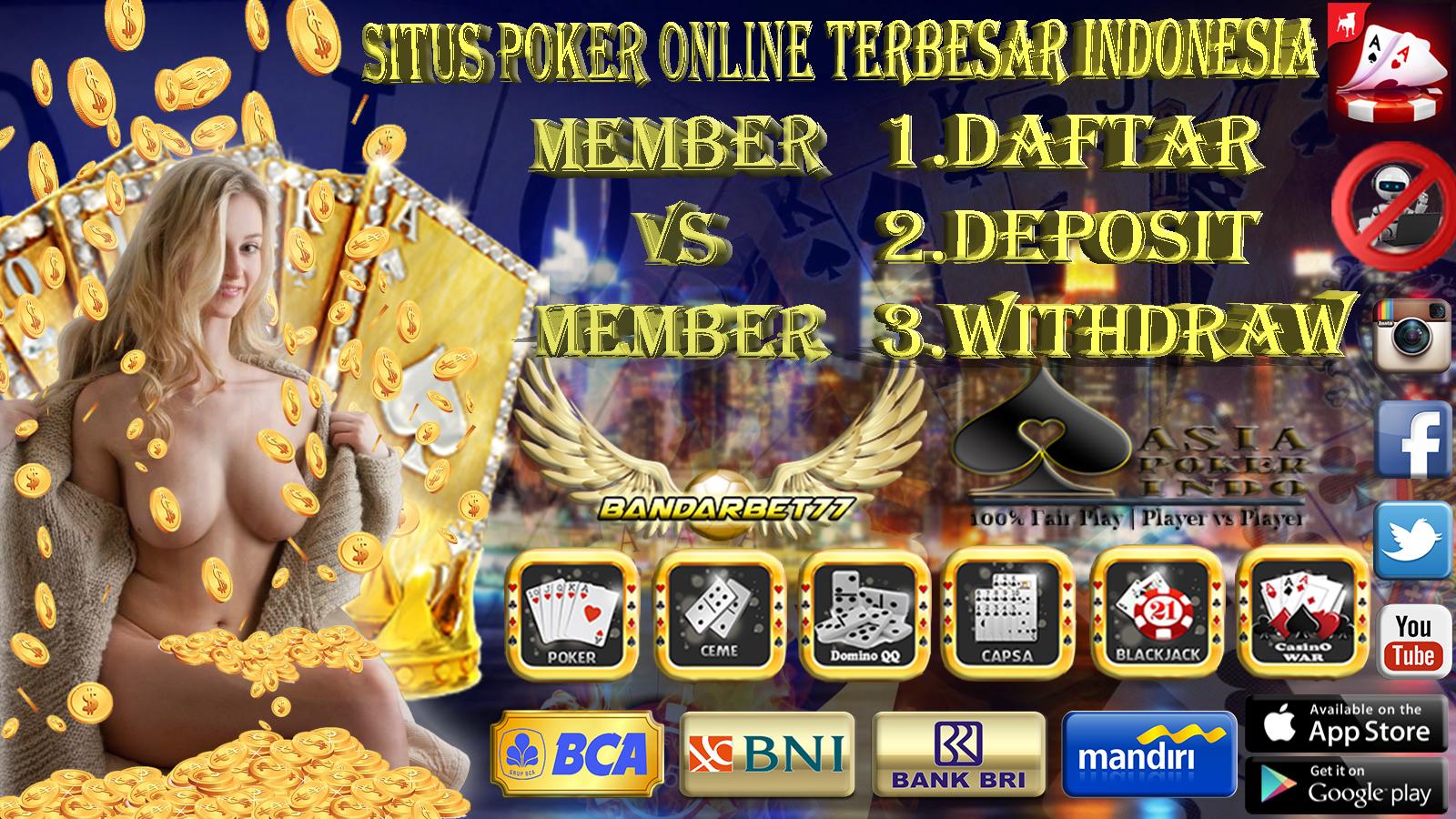 Agen Game Poker Online Indonesia Terbaru Tahun Ini